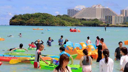 Guam bat ngo noi tieng sau de doa tan cong tu Trieu Tien - Anh 1