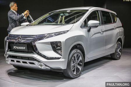 Mitsubishi ra mat mau MPV 7 cho Xpander, canh tranh truc tiep voi Toyota Avanza - Anh 1