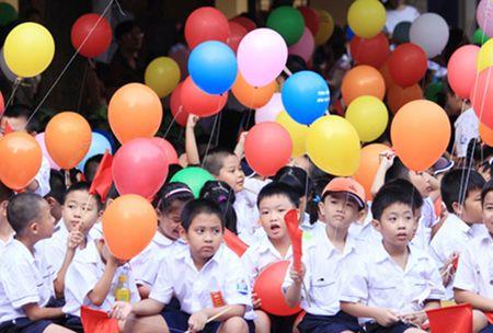 Cac truong hoc Ha Noi khai giang dong loat vao ngay 5/9 - Anh 1