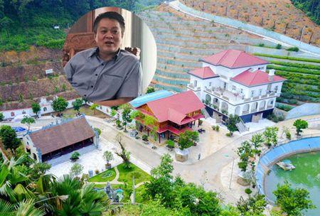 Lui cong bo ket luan thanh tra tai san Giam doc So TN&MT Yen Bai - Anh 1
