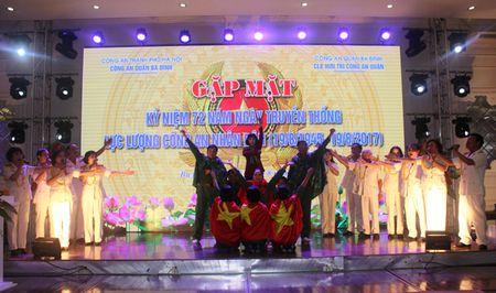 CAQ Ba Dinh: Gap mat can bo chien si Cong an huu tri qua cac thoi ky - Anh 2