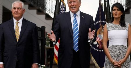 Ong Trump: Trieu Tien se 'rac roi to' neu tan cong Guam - Anh 1