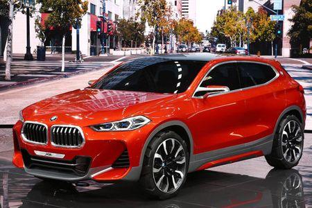 SUV Coupe BMW X2 hoan toan moi 'khoac' camo xuong pho - Anh 2