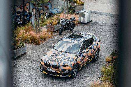 SUV Coupe BMW X2 hoan toan moi 'khoac' camo xuong pho - Anh 4