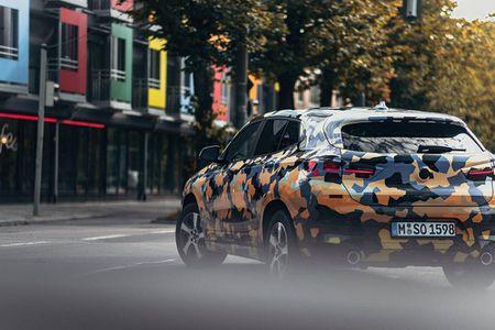 SUV Coupe BMW X2 hoan toan moi 'khoac' camo xuong pho - Anh 6
