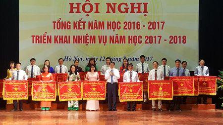 Chu tich Nguyen Duc Chung: Giai quyet dut diem hien tuong qua tai o mot so truong - Anh 1