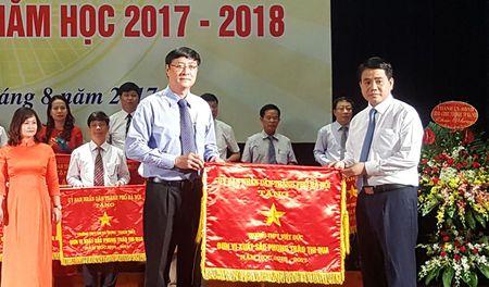 Chu tich Nguyen Duc Chung: Giai quyet dut diem hien tuong qua tai o mot so truong - Anh 2