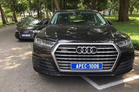 """Xem """"trien lam"""" xe sang Audi phuc vu APEC 2017 tai Dinh Thong Nhat - Anh 3"""