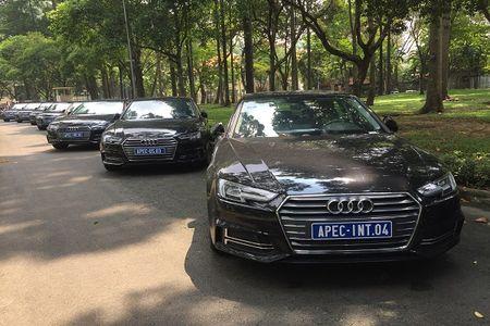 """Xem """"trien lam"""" xe sang Audi phuc vu APEC 2017 tai Dinh Thong Nhat - Anh 4"""