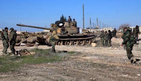 'Ho Syria', La chan Qalamount tan cong IS tai Hama - Anh 1