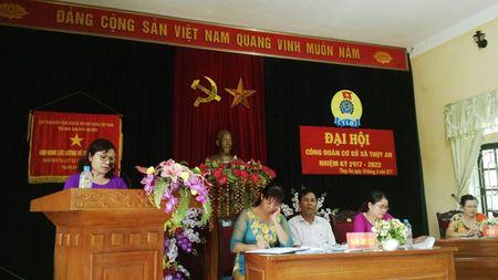Huyen Ba Vi: To chuc thanh cong Dai hoi CDCS xa Thuy An nhiem ky 2017 – 2022 - Anh 1