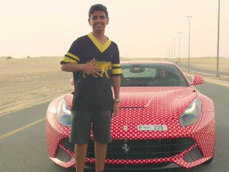 Con trai ty phu Dubai chua du tuoi da tau sieu xe - Anh 2