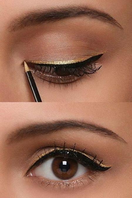 6 cach ke eyeliner nang nao cung nen thuoc nam long - Anh 5