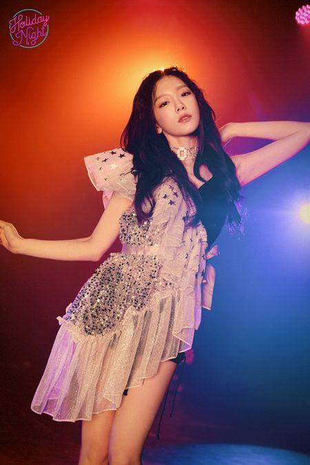 Taeyeon (SNSD) lan dau tham du su kien am nhac quoc te voi tu cach nghe si solo - Anh 4