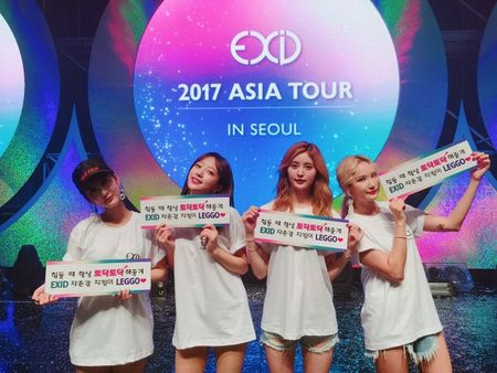 8 thang sau san khau o Viet Nam, fan EXID vo oa khi 5 thanh vien lan dau hoi ngo - Anh 2
