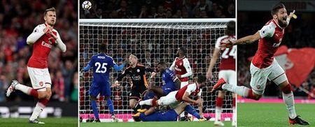 Arsenal danh bai Leicester trong 'con mua' ban thang - Anh 8