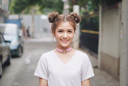 Hot girl Thai Lan 21 tuoi gay thuong nho voi nu cuoi toa nang - Anh 6