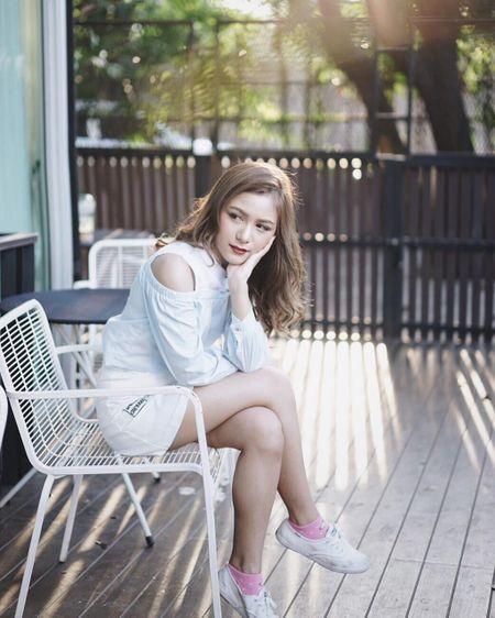 Hot girl Thai Lan 21 tuoi gay thuong nho voi nu cuoi toa nang - Anh 9
