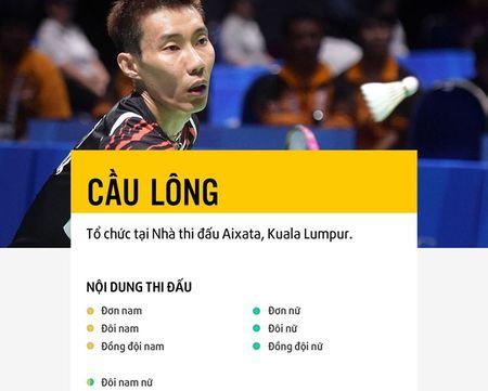Lee Chong Wei, Ratchanok khong du SEA Games 29 - Anh 1