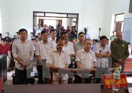 456 thang tu cho 14 bi cao sai pham dat dai o Dong Tam - Anh 1