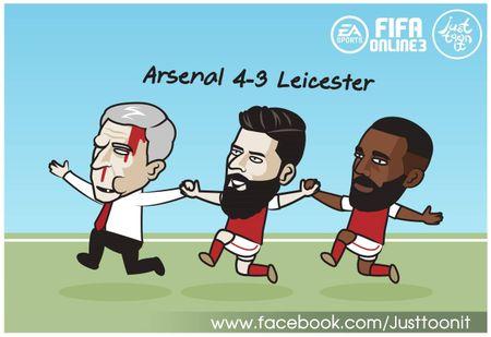Biem hoa 24h: Arsenal mo man Premier League 'chat' nhu Bphone 2017 - Anh 11