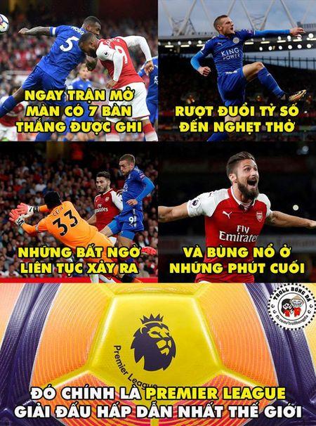Biem hoa 24h: Arsenal mo man Premier League 'chat' nhu Bphone 2017 - Anh 1