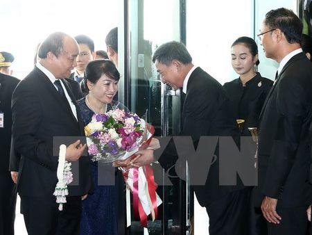 Thu tuong Nguyen Xuan Phuc bat dau tham chinh thuc Thai Lan - Anh 1