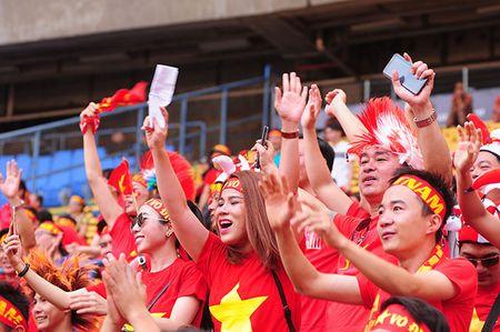 Xuc dong khoanh khac U22 Viet Nam xep hang chao CDV nha - Anh 5
