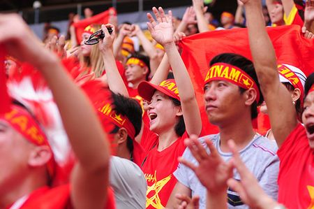Xuc dong khoanh khac U22 Viet Nam xep hang chao CDV nha - Anh 7