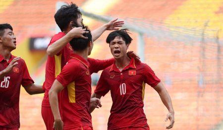 Cong Phuong lap cu dup, U22 Viet Nam thang dam U22 Campuchia o SEA Games 29 - Anh 1