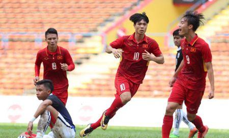Cong Phuong lap cu dup, U22 Viet Nam thang dam U22 Campuchia o SEA Games 29 - Anh 2