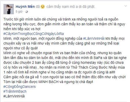 Hang loat dong nghiep len tieng doi tra lai tieng oan cho Lam Vinh Hai - Anh 2