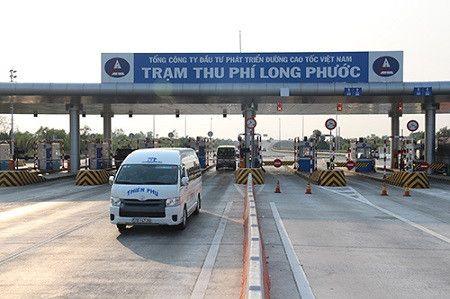Thu phi tu dong tren cao toc TP.HCM - Long Thanh - Dau Giay tu 21/8/2017 - Anh 1