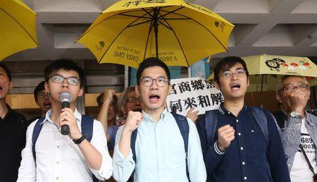 Hong Kong: Joshua Wong bi bo tu - Anh 1