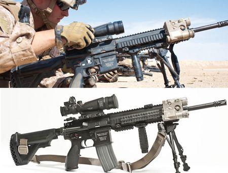 My quyet chon sung truong tan cong M-27 Duc de doi trong voi AK-12 Nga - Anh 14