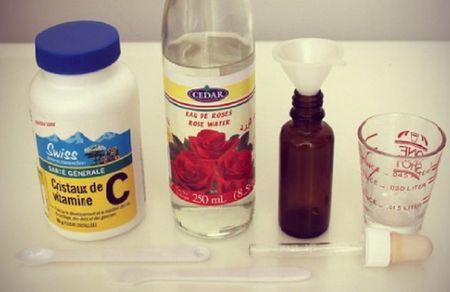 Tu lam serum vitamin C 'chuan spa' cuc de, cuc tiet kiem - Anh 2