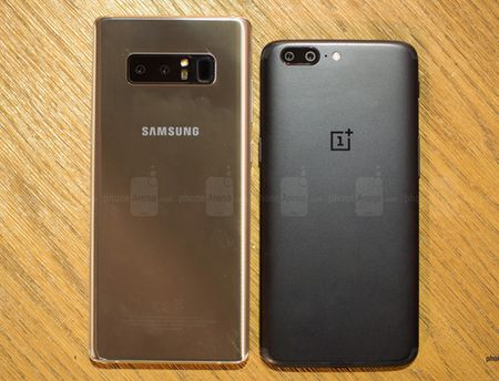 Samsung Galaxy Note8 'tranh tai' cung OnePlus 5 - Anh 2