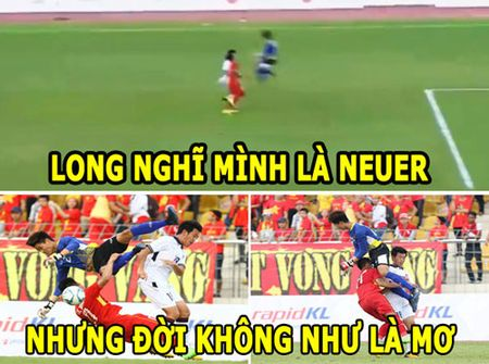 ANH CHE: Thu thanh Phi Minh Long 'tien' U22 Viet Nam ve nuoc - Anh 4