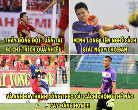 ANH CHE: Thu thanh Phi Minh Long 'tien' U22 Viet Nam ve nuoc - Anh 6