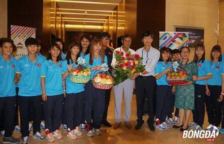 Gianh vang SEA Games 29, DT Viet Nam tuoi nhu hoa ve Viet Nam - Anh 1