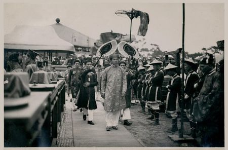 Tan muc le te dan Nam Giao nam 1933 o kinh thanh Hue - Anh 14