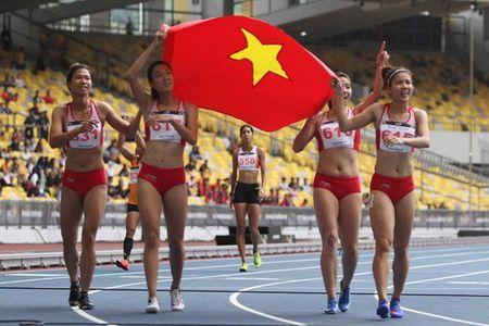 SEA Games ngay 25-8: Tu Chinh va to tiep suc 4x100m gianh HCV, pha ky luc - Anh 2