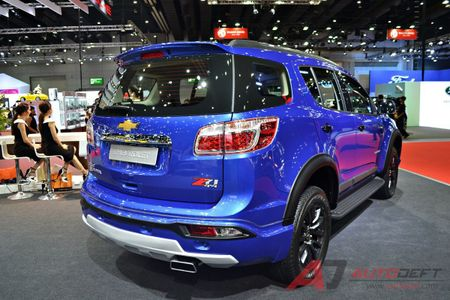 Chevrolet Trailblazer them ban cao cap Z71, gia hon 1y dong - Anh 4