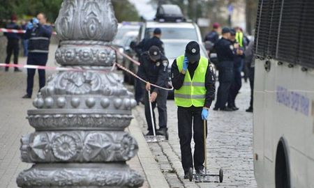 No o thu do Ukraine trong ngay Quoc khanh - Anh 1