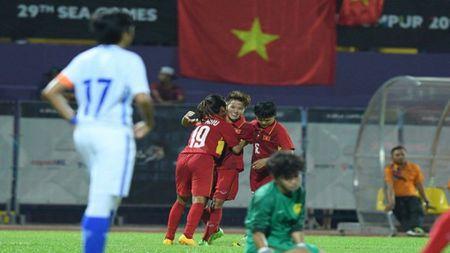Tuyen nu Viet Nam vo dich SEA Games 29 - Anh 1