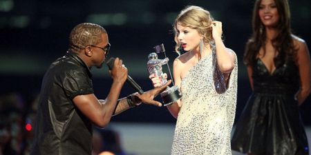 Taylor Swift chinh thuc tuyen chien Kanye West day tham thuy bang album moi? - Anh 4