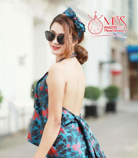 Thi sinh Miss Photo 2017: Ha Thi Thao - Anh 4