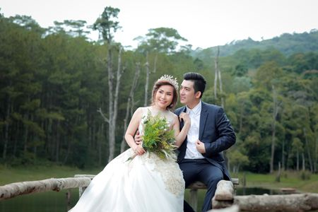 Bao Duy khoe anh cuoi lang man voi nguoi vo thu 3 - Anh 3