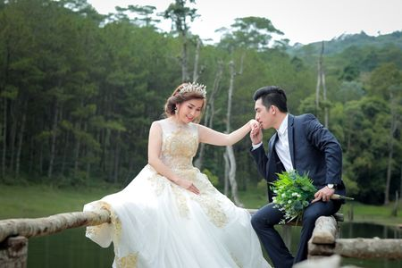 Bao Duy khoe anh cuoi lang man voi nguoi vo thu 3 - Anh 4