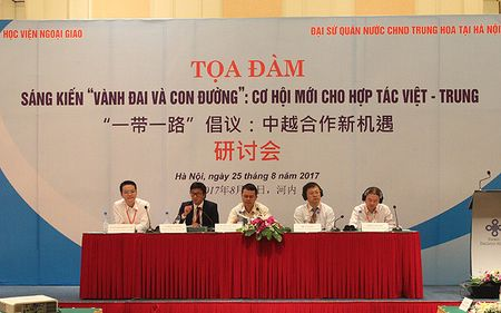 Trien vong hop tac Viet-Trung tu sang kien 'Vanh dai va Con duong' - Anh 1